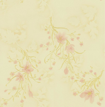 fresh and elegant fashion flower wall covering