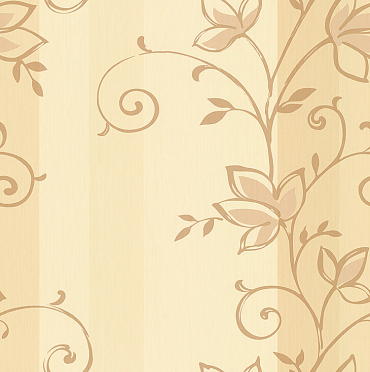 cheap pvc engineering floral wallpaper
