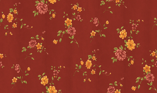 hot selling small flowers wallcovering