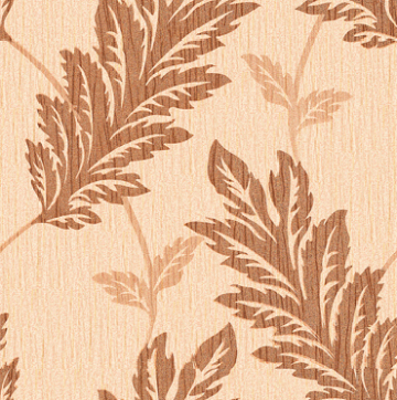 leaves design vinyl wallcovering for projects