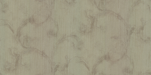 natural material acanthus leaf wallpaper