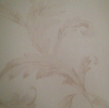 Italian design acanthus leaf decorative wallcovering