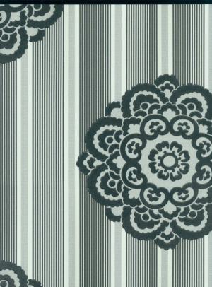 big flower design room decoration wallcovering for projects